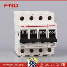 FND DD7-63 factory price dx mini circuit breaker