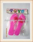 girls plastic pink beauty set toy high heel shoes