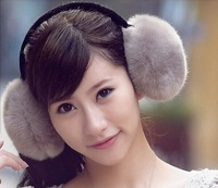 Fashion Ladies Fur Ear muffs