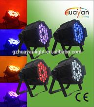 18x10w 4-in-1 RGBW led par light Stage light/ DJ indoor disco party stage led lighting system