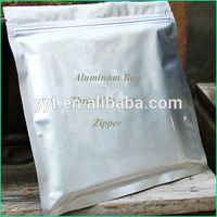 resealable aluminum foil ziplock tea packing bag