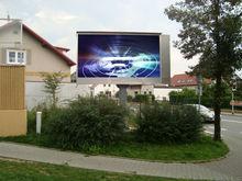 Fiber Glass LED Display P10 DIP IP65, Outdoor Color LED Billboards