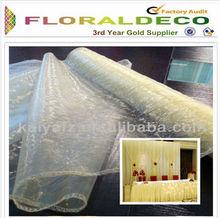 29 cm x 5 M Organza Eleganza tissu transparent 26 couleurs disponibles