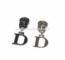 D ring pull zipper slider