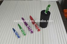 non-stick knife set