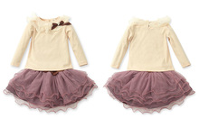 bow on the chest girls blouse sexy lace dresses