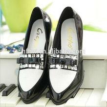 2014 fashion korea Style beautiful women's Diamond light mouth high heels