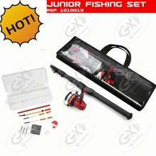 Junior fishing set and fly rod blank