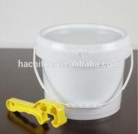 8L 2.1 gallon plastic barrel white colour other colours as demand