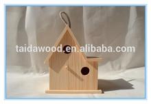 New Unfinished Wooden Bird House Wholesale/Pigeons Bird House/Bird House Kit
