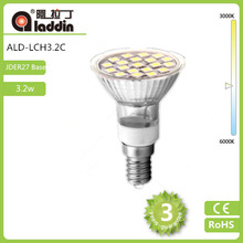 Hot sale JDER27 3.2W 230V 5050 SMD led lamp high brightness