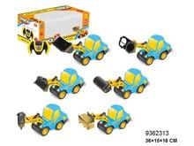 Shantou factory cartoon Stone RC car six boys toy educational toy