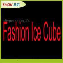 Flashing colorful high quality mini led ice cube for party