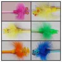 Plume light ball pen
