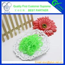 600pcs one bag 32 colors High Quality Loom Elastic Band for you choose