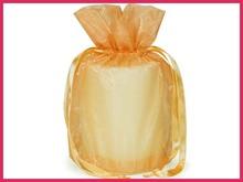 hot popular gold organza wedding bags