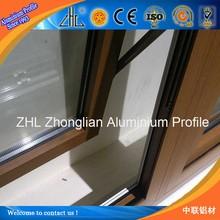 Good! Hot search wooded window aluminium profile supplier OEM aluminum tile trim profiles, morden design aluminium window grill