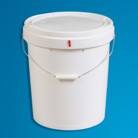 packaging and storage Usage and Bucket Type Great Quality Large Capacity Plastic Barrel 25L Plastic Bucket