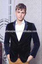 2014 Autumn New Fashion Men's Patchwork Slim Blazers