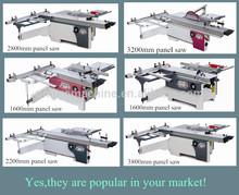 Precision sliding table saw/wood cutting machine/panel saw MJ6116/6128/6130/6138TDO
