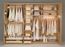MDF clothes wardrobe wooden wardrobe furniture