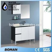 Green Glass Sink Smart Design Bathroom Vanity