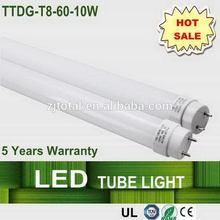 Innovative designer 10w led t8 tube lampe
