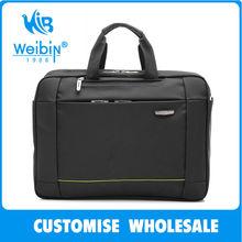 quilted top open nylon neoprene laptop bag