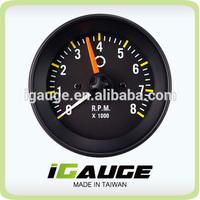 52mm 0-8000 RPM On Dash Electrical Tachometer Gauge