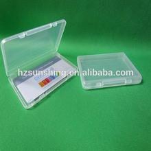 2014 hotsell super clear plastic card box