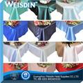 Design de mode caddices mariage, patchwork brodé nappe organza