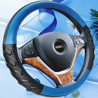 HL12B003 blue pink colorful car steering wheel cover car accessories can make logo like Nike