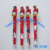 Promotional GuangDong Cartoon Character Plastic Ballpoint Pen
