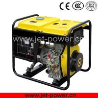 home used small diesel generators portable open type diesel generators