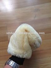 Cheap Car Wash Gloves Synthetic Wool Car Wash Mitt