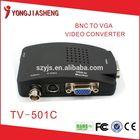 BNC/RCA/S-VIDEO to VGA Video Converter, PAL/NTSC to VGA Convertor