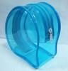 pvc zipper bag / pvc transparent bag /clear pvc bag for cosmetics