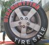 Giant advertising inflatable wheel model, inflatable tire model,inflatable tyre model