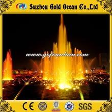 Program Control Dancing Water Fountain Gold Ocean