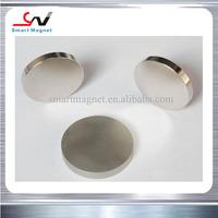 Promotion permanent magnetic zinc coating n35 neodymium magnet disc