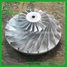 Stainless steel water pump impeller, high precision vacuum cleaner impeller
