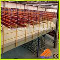 el almacenamiento de almacén de acero de la plataforma para la acción de los