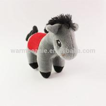 zoo animal set plush horse toy ,animal soft toy