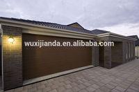 modern residential garage door, remote control garage door panel,single track garage door