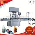Semi automática linear viscosidade carro/tapete shampoo máquina de enchimento