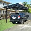 High quality aluminum frame cheap prefab garage