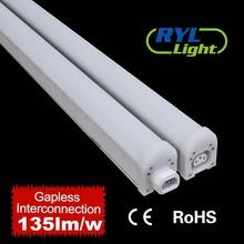 easy install linkable dust proof energy saving 65w led light for warehouse
