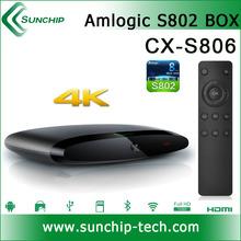 Android tv box 2gb ram 16gb rom Amlogic S802 M8 2.0GHz Quad Core Google TV Box XBMC 13.0 EM8