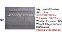 3-tab asphalt roof tile