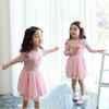 wholesale baby clothes flower girl tulle dress pink